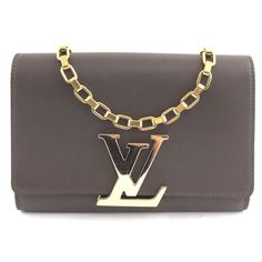 e6a286a63cc5 Louis Vuitton Tawny Calfskin Leather Shoulder Bag. Get one of the hottest  styles of the