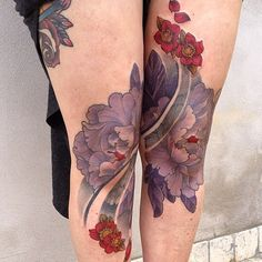 Knee tattoo idea