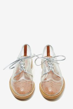 Jeffrey Campbell Townsend Transparent Oxford - Oxfords | Jeffrey Campbell | Shoes | All