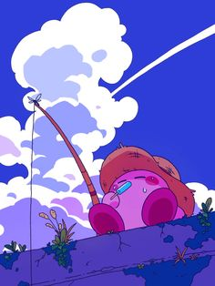 Kawaii Wallpaper, Cute Wallpaper Backgrounds, Cute Wallpapers, Aesthetic Art, Aesthetic Anime, Kirby Character, Whatsapp Wallpaper, Cute Icons, Animes Wallpapers