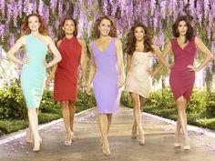 Teri Hatcher, Vanessa Williams, Felicity Huffman, Marcia Cross, and Eva Longoria in Desperate Housewives