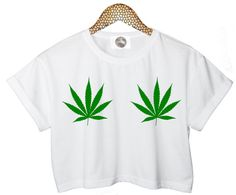 weed LEAF LEAVES crop T SHIRT customised top retro hipster swag dope yolo vtg punk handmade womens ladies funny crop top summer cute reggae on Etsy, $25.00
