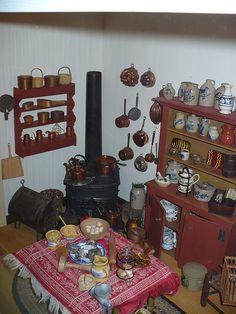 Tasha Tudor's Dollhouse. Because we need to keep imagining & playing. Always