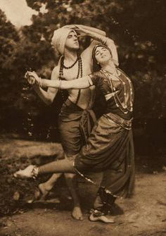 Ted Shawn with dancer and wife Ruth St. Denis , 1916 Reblog