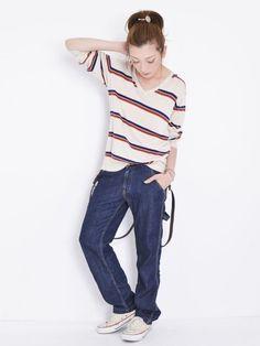 Ungrid ペインターデニム/ painter's jeans on ShopStyle