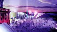 Proposed Adelaide redevelopment