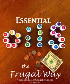 One question I get quite often these days with Young Living essential oils – and one I faced myself when first learning about essential oils is: How do you enjoy essential oils the frugal way? I will share with you the many ways we have made essential oils work on a family of 7 budget.