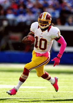 4a20776da RG3 in pink Redskins Pictures