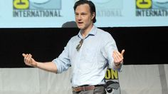 """David Morrissey speaks onstage at AMC's """"The Walking Dead"""" panel during Comic-Con International 2013 at San Diego Convention Center on July 2013 in San Diego, California David Morrissey, Convention Centre, Norman Reedus, The Walking Dead, Fangirl, It Cast, Actors, San Diego, California"""