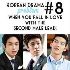 Second lead syndrome, it's inevitable, painful, lovely, annoying,aaaaaaaaannnnd beautiful ;)