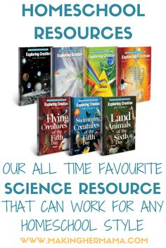 Are you looking for a great science resource or curriculum? Look no further than the Apologia Young Explorer Series. You can teach your kids about science from a Christian perspective. These books read just like stories and can be used as a full curriculum or as an addition to a morning basket! (Affiliate link)