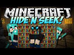 Minecraft | HIDE N SEEK! w/FaceCam! | Minigame
