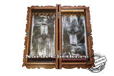 """Купить нарды с медведем """"Хозяин леса"""". Frame, Home Decor, Homemade Home Decor, Interior Design, Frames, Home Interiors, Decoration Home, Home Decoration, Home Improvement"""