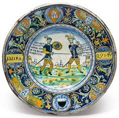 istoriato dish ||| maiolica ||| sotheby's n09813lot9n8lpen