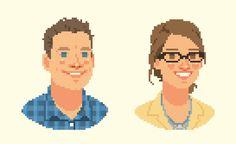 VIXELS pixel portraits