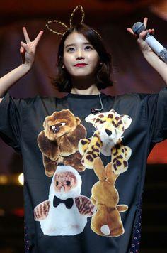 Iu Fashion, Fashion Lookbook, Little Sisters, Korea, Teddy Bear, Singer, Kpop, My Love, Pretty