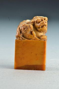 A Finely Carved Chinese Qing Tianhuang Stone Seal