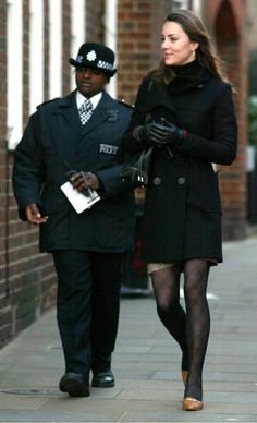 January 4, 2007, As Kate left for work, dressed in a check skirt and black woollen jacket, she passed two officers standing outside the door of her Chelsea home. Another two patrolled the street. And a further pair then followed her in a patrol car to the office in Kew, West London, where she works as a buyer for high street fashion chain Jigsaw.