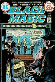 DC Comics' Black Magic #6.