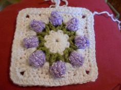 Hooker Magic: Rosebud Granny Square