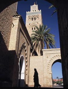 The Koutoubia Mosque or Kutubiyya Mosque is the largest mosque in Marrakesh, Morocco. The mosque is also known by several other names, such as Jami' al-Kutubiyah, Kotoubia Mosque, Kutubiya Mosque, Kutubiyyin Mosque, and Mosque of the Booksellers.