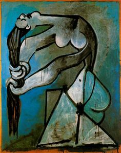 Artwork by Pablo Picasso, Alice Marianne, Made of chromolithography Picasso Famous Paintings, Pablo Picasso Drawings, Picasso Art, Amazing Paintings, Oil Paintings, Cubist Movement, Georges Braque, Spanish Artists, A Level Art