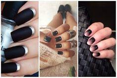 Идеи за Маникюри : Черен гел лак - красота и стил