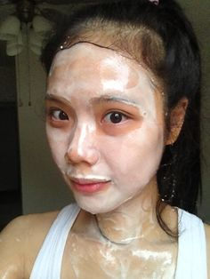 We were all made beautifully: Rice Flour + Milk Powder Mask for natural whitening