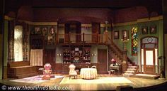 Arsenic and Old Lace. Utah Shakespeare Festival. Scenic design by Thomas C. Umfrid. 2001