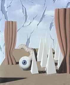 "Rene Magritte ~ ""The Poetic World Le Monde Potique II"", 1937"