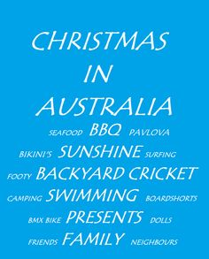 Sew, Cook, Laugh and Live: Festive Friday, Christmas the Aussie way! A free printable gift from me to you Aussie Christmas, Australian Christmas, Summer Christmas, A Christmas Story, All Things Christmas, Pavlova, Christmas In Australia, New Years Traditions, Christmas Challenge