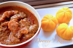 You must have noticed that there is a Delta vibe going on on the blog at the moment. Well I promised you a bumper season of fantastic Nigerian recipes this March, and what better way to be inspired, than dishes from Delta. Today, I am bringing you Owgho soup. I hope I spelt it correctly. It is pronounced Oh-W-Oh soup, a culinary delight of the Urhobo people. As with some other languages, in Urhobo, although the 'g' is spelled, some times, it is not pronounced. This is a truly simple dish. In…