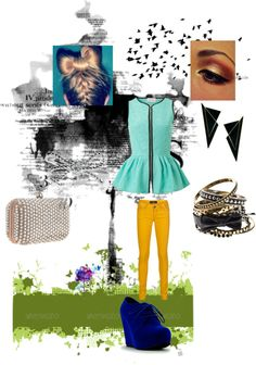 """""""bow with a great wedge :)"""" by norabetcher on Polyvore"""