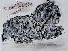 Arte Moderna & Contemporânea: Uma cadela XV