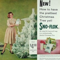 Sno Flok. Ed did this with mothers vac...it did not end well.