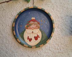 Pattern by Renee' Mullins painted by me