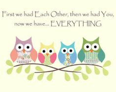 Chouettes en premier, nous avons eu mutuellement, oeuvre de pépinière ou enfants, découpage, fille, rose, bleu, vert, violet, jaune, oiseau, branche d'arbre