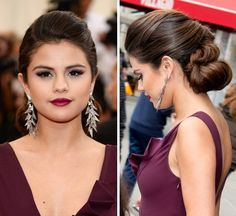 Selena Gomez had the best updo of the night -- hands down!