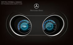 """Check out my @Behance project: """"Mercedes Benz Instrument Cluster Design Concepts"""" https://www.behance.net/gallery/48503237/Mercedes-Benz-Instrument-Cluster-Design-Concepts"""