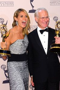 MANY CONGRATULATIONS TO HEIDI AND TIM!!! Yesterday they took home the Emmy for Outstanding Host For A Reality Or Reality-Competition Program!!!!