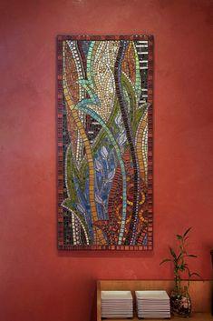 Abstract mosaic wall art – thenatureofmosaic  Gretchen McPherson – flickr