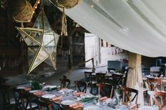 Have the best barn party ever! We're experts in Barn Dressing & barn party decorations. Let us transform your party into something magical. Wedding Draping, Tent Wedding, Wedding Sets, Boho Wedding, Woodland Wedding, Summer Wedding, Barn Party Decorations, Arabian Tent, 2018 Wedding Trends