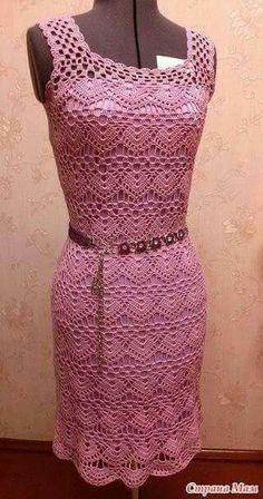 Photo from album Crochet Woman, Crochet Lace, Knit Dress, Dress Skirt, Crochet Wedding Dresses, Lace Cardigan, Beautiful Crochet, Simple Dresses, Crochet Clothes