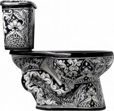 Mexican Talavera Toilet Set \'San Miguel\' | House | Pinterest | San ...