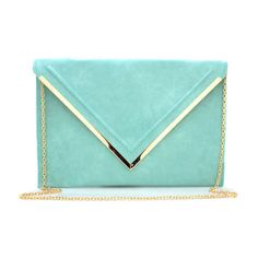 oversized envelope clutch ($30) ❤ liked on Polyvore