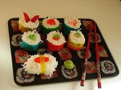 New dessert sushi ideas!
