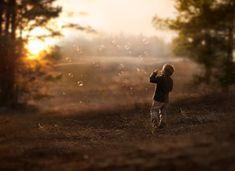 Auténtica magia en las fotografías infantiles
