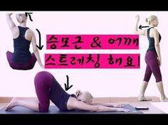 [승모근/어깨/라운드숄더 교정운동,스트레칭] 같이해요! - YouTube