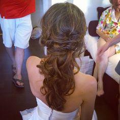 wedding hairstyles for long hair by Rome italy hair and makeup artist Janita Helova www.janitahelova.com