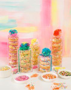 sprinkle party donut